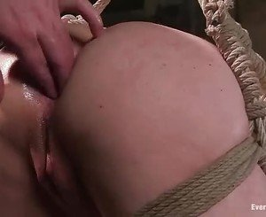 Kylie Ireland get her sexy ass rammed hard and violated with...