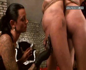 Royal Dildo Slave