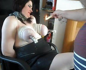 Tits Bound: Free BDSM & Bondage Porn Video ba -
