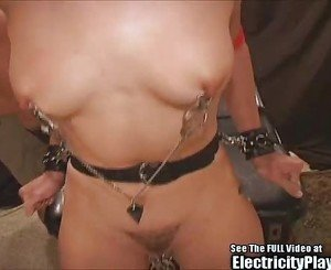 Transgender Bitch Electro TizORTURE Pain Slut