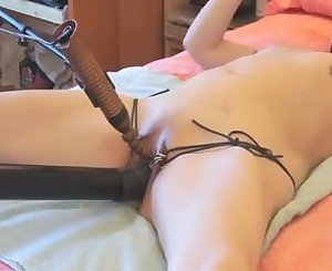 Submissive Wife Tied and Masturbated, Porn 86: