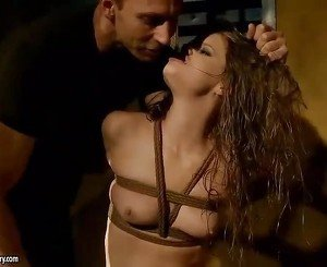 Young sex slave gets punished and fucked