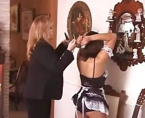 French Maid Bondage: Free BDSM Porn Video c7 -