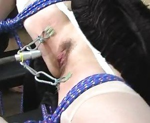 BDSM Fucking Machine and Squirt, Free Porn 59: