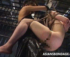 Thai Mistress Screws Her Slavegirl Together Involving Strapon