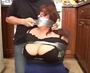 Elane Bound and Gagged, Free BBW Porn Video 84:
