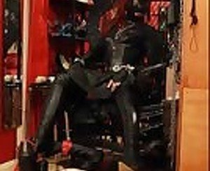 Trampling in Leather: Free BDSM Porn Video e5 -