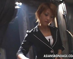 Hot Japanese babes enjoy rough pleasing