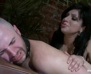 Cute Sativa Rose Strapon Has Fucking Male In Kinky Lady Domination Video