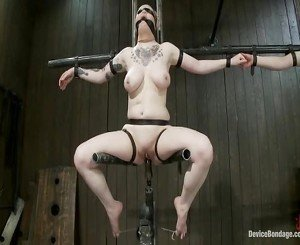 Vulnerable Ache Doxy Bawdy Cleft Get Pulverized By The Meanest Machines Around.