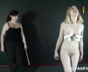 Satines Lesbian Punishment and Humiliating Workout