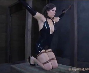 Chained Lady Requires Spicy Torture