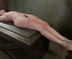 Missy Minks Moans In Happiness While Being Pulled By The Teats