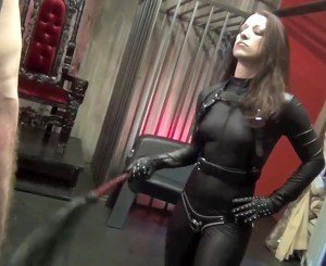 Whipped by Hot Mistress in Leather, Free Porn 61: