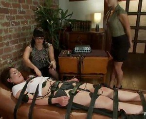 Bobbi Starr Torments Pair Erotic Tarts In A Horny Sadism Mov