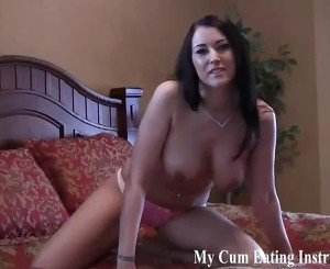 Eat Your Cum for Me Again and Again CEI, Porn 7a: