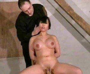 Asian Face slapping and rough domination