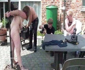 Three Slavegirls in Outdoor Perversions