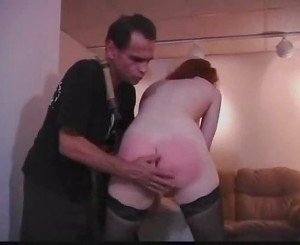 Redhead makes perfect slave