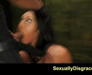 FetishNetwork Sabrina Banks dungeon slut