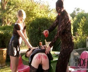 Clumsy Maid Samantha Bentley Soon Learns What Comes Next From Her Furious Mistresses In Our Continuation Of A Scenario From Last Thursday 7512! Immobilized By A Spreader Bar At Her Ankles, S
