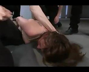 Nicole Rider gets Mouth Fucked by Group, Porn 64: