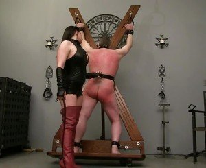 Whipped by Dominant Mistress, Free BDSM Porn e4: