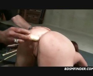 Caned And Anal Figged