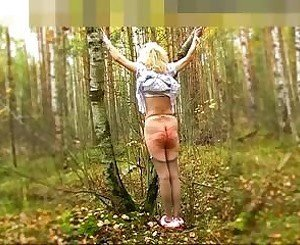 Forest Birching: Free BDSM Porn Video 58 -