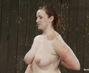 Voluptuous Ginger Bella Rossi Knocker Tortured And Toyed In Pain Enjoyment Vid