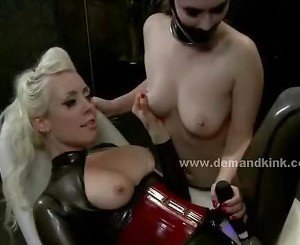 Man and woman slaves used by mistress